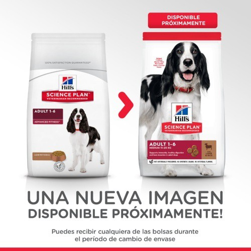 Hill's Canine Adult Advance Fitness Cordero y Arroz