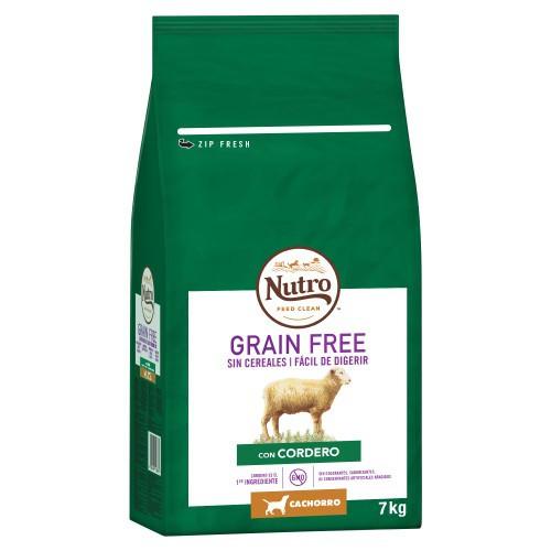 Nutro Grain Free con cordero para cachorros