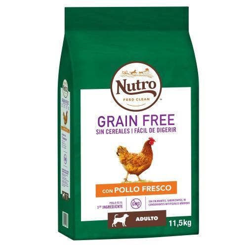 Nutro Grain Free con pollo para perros medianos