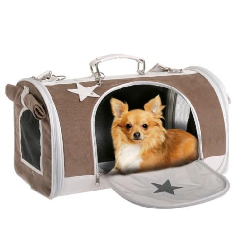 Bolso transportin con estrella para perros y gatos