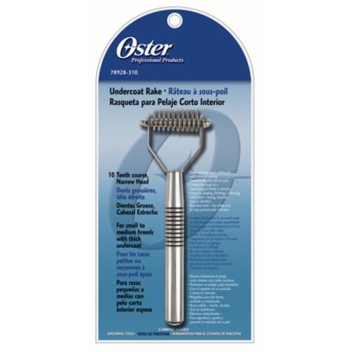 Rastrillo cortanudos mediano de diente grueso de Oster