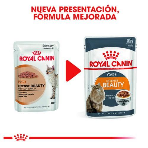 Royal Canin Intense Beauty Salsa alimento húmedo para gatos