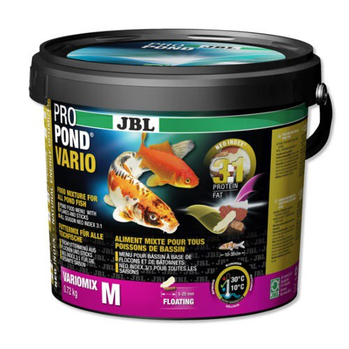 Jbl pond vario alimento completo para peces de estanques Antialgas para estanques con peces