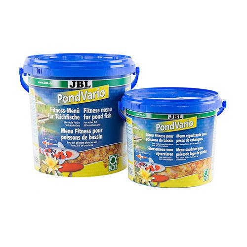 Jbl pond vario alimento completo para peces de estanques for Comida para peces de estanque