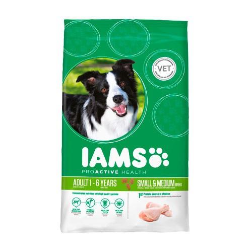 IAMS Proactive para perros adultos razas pequeñas/medianas