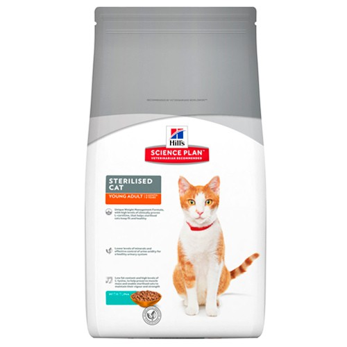 Hill's Feline Young Adult Sterilised Cat Atún