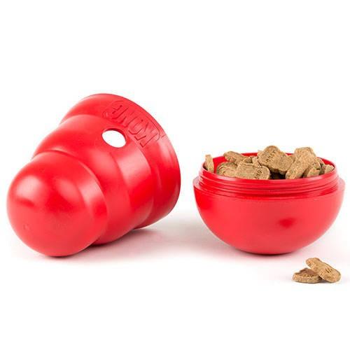 Kong Wobbler Dispensador de comida para perros