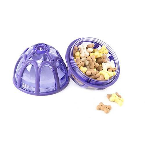 Bola dispensadora de comida Kibble Nibble para perros
