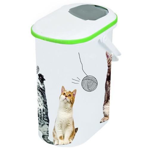 Contenedor hermético pequeño para pienso de mascotas