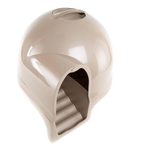 Gatera cerrada con forma de iglú CleanStep