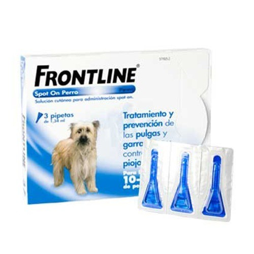 Frontline Spot On perros 10-20 kg protección total