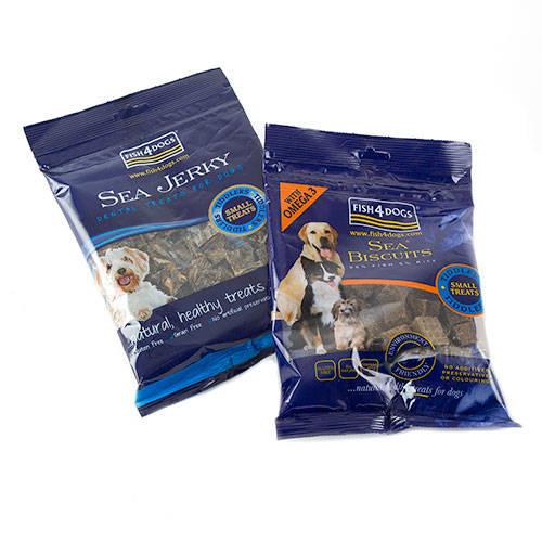 Fish4dogs Sea Jerky snack hipoalergénico pescado