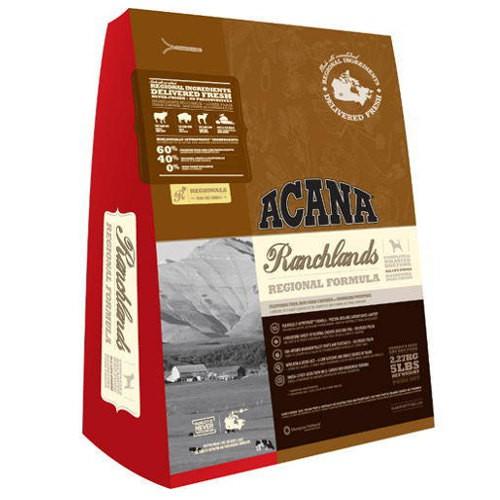 Acana Ranchlands para perros con carnes rojas