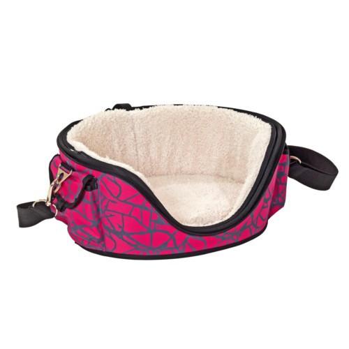 Bolso transportín cama Shopper Deluxe para mascotas Color Rosa