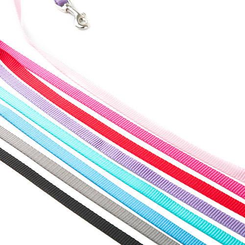 Correa para perros de nylon Linea Basic Color Negro
