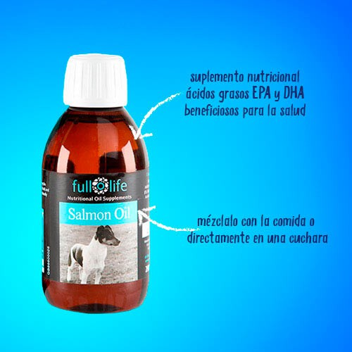 Fullolife Aceite de Salmón para perros y gatos