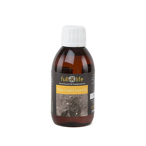 Fullolife Aceite puro de hígado de bacalao para perros