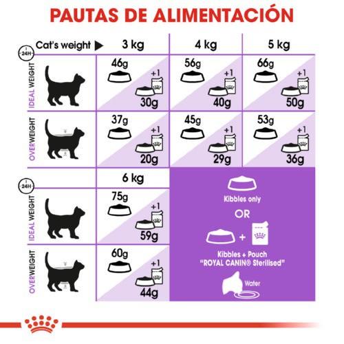 Royal Canin Sterilised  7 para gatos