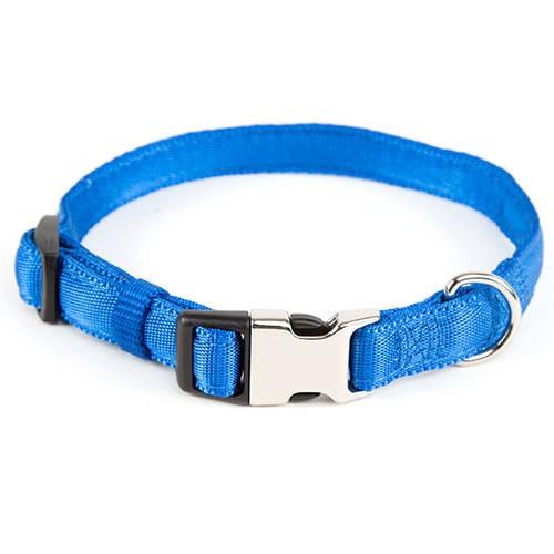 Collar acolchado para perros y gatos Soft Azul TK-Pet