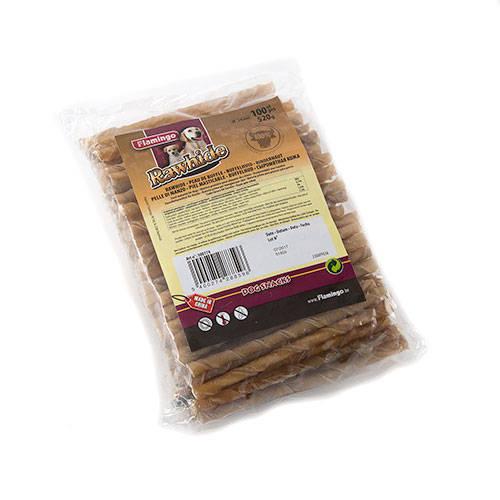 Snack para perros palitos de cuero de vaca