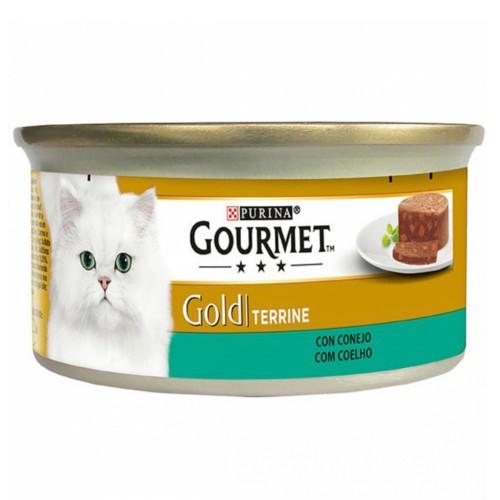 Gourmet mousse terrine sabor conejo para gatos