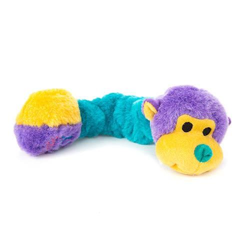 Kong Squiggles de peluche elástico para perros
