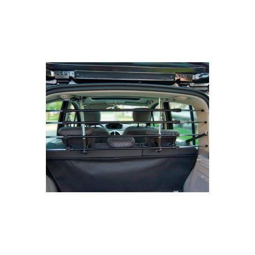 Barrera separadora para coche abatible se abre y cierra fácil