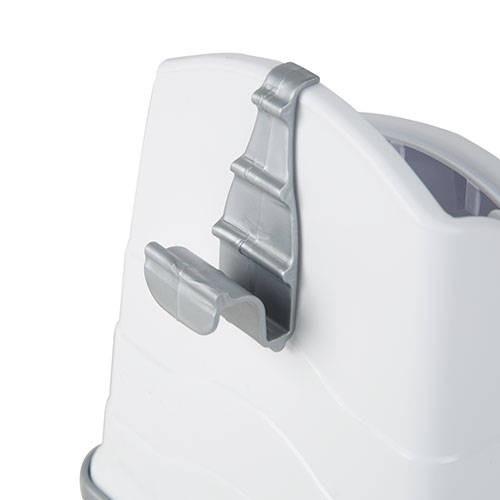 Pala recoge desechos con soporte para bandejas sanitarias gatos