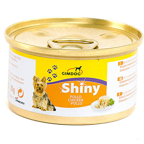 Shiny Dog Láminas en Gelatina para Perritos Lata