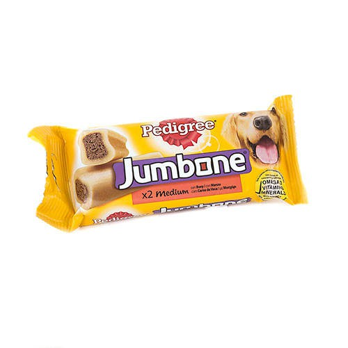 Pedigree Jumbone con buey para perros