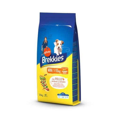 Brekkies Adult Mini Pollo pienso para perros pequeños