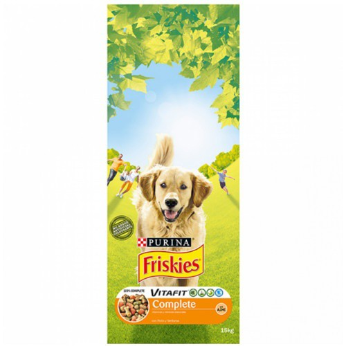 Friskies Adult Complet Pollo y verduras Pienso para perros