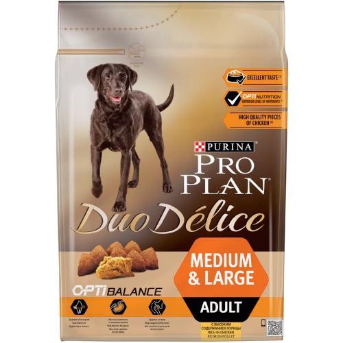 PRO PLAN Duo Delice Adult Pollo pienso para perros