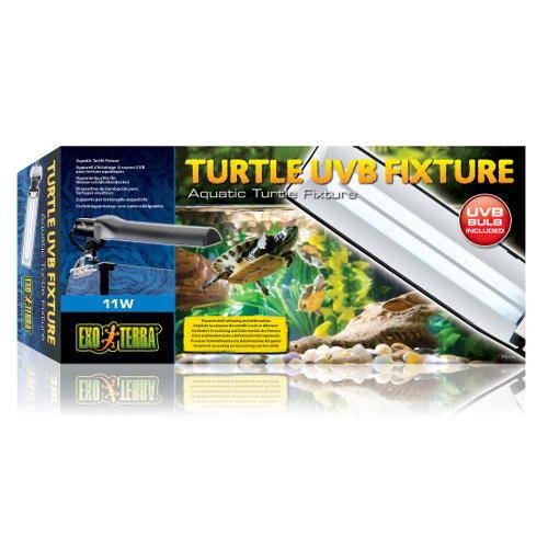 Exo Terra Portalámparas Turtle UVB Fixture para tortugas acuátic