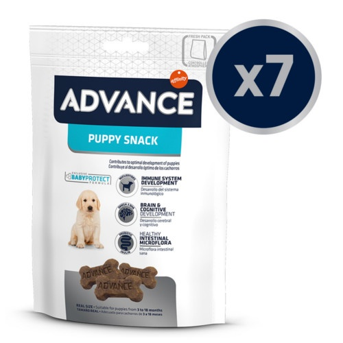 Advance Baby protect Puppy snack galletas para cachorros