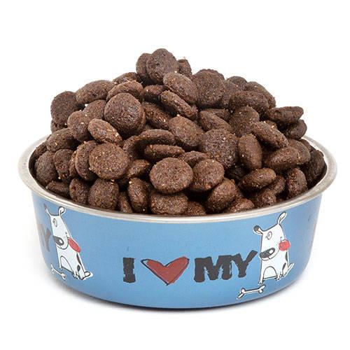 Comedero de acero inox TK-Pet I love my dog
