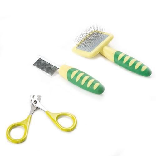 Set de cuidados y peluquería para roedores