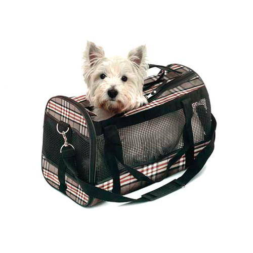 Bolso para transportar mascotas estilo ingles