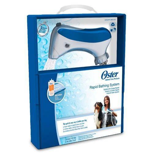 Oster sistema de baño rápido profesional para perros y gatos