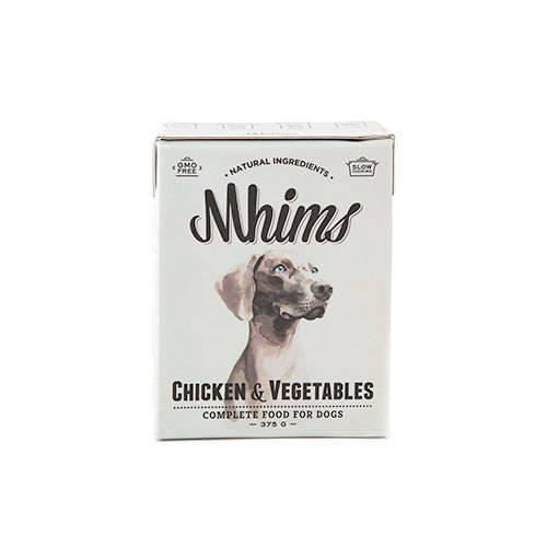 Mhims Pollo Alimento húmedo natural para perros