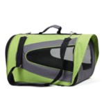 Carrying bag for dogs and cats Kibo Visera green
