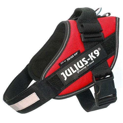 Ergonomic harness Julius K9 IDC red